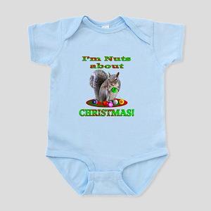 Squirrel Christmas Infant Bodysuit