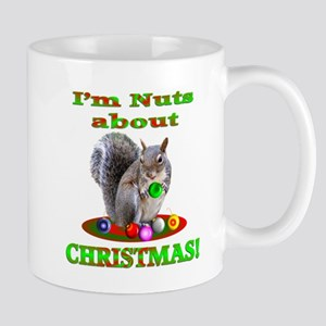 Squirrel Christmas Mug