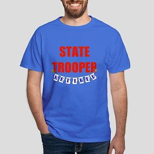Retired State Trooper Dark T-Shirt