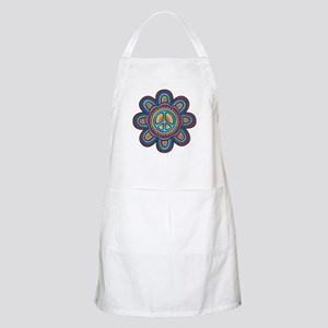 Hippie Peace Flower Apron
