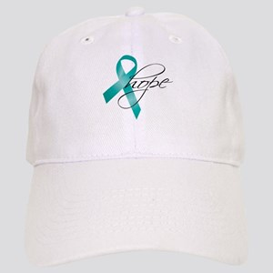 Cervical Cancer Ribbon Hope Cap
