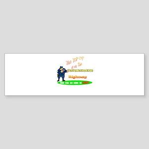 'Retirement Highway.2 :-)' Bumper Sticker