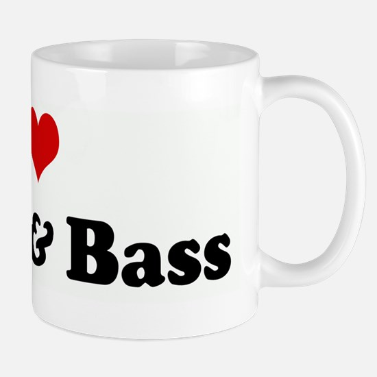I Love Drum & Bass Mug