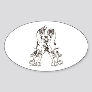NCH Leaners Oval Sticker