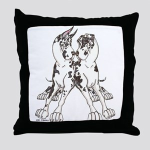 NCH Leaners Throw Pillow