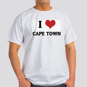 I Love Cape Town Ash Grey T-Shirt