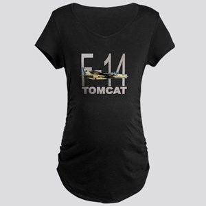 F-14 TOMCAT Maternity Dark T-Shirt