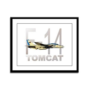 F-14 TOMCAT Framed Panel Print