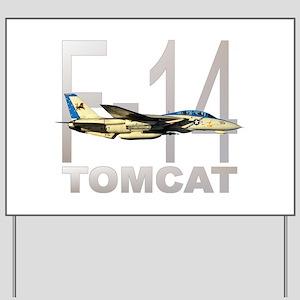 F-14 TOMCAT Yard Sign