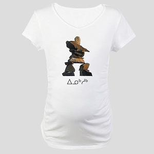 Inukshuk Maternity T-Shirt