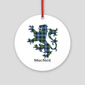 Lion-MacNeil Round Ornament