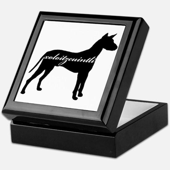 Xoloitzcuintli DESIGN Keepsake Box