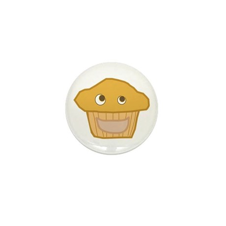 Plain Muffin Mini Button (10 pack)