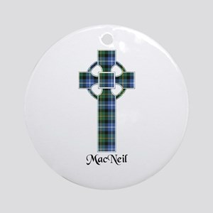 Cross-MacNeil Round Ornament