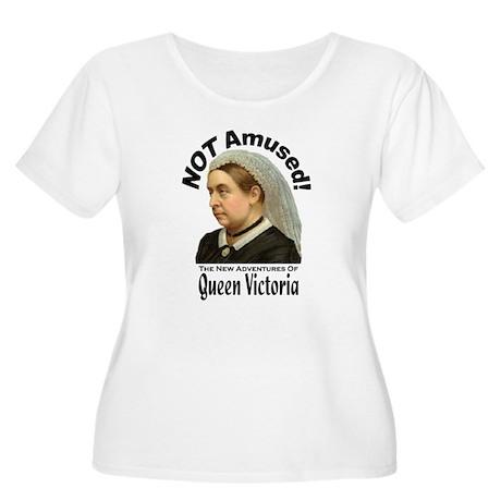 Queen Victoria Women's Plus Size Scoop Neck T-Shir
