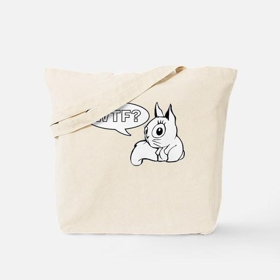 WTF Cat Tote Bag