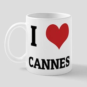 I Love Cannes Mug