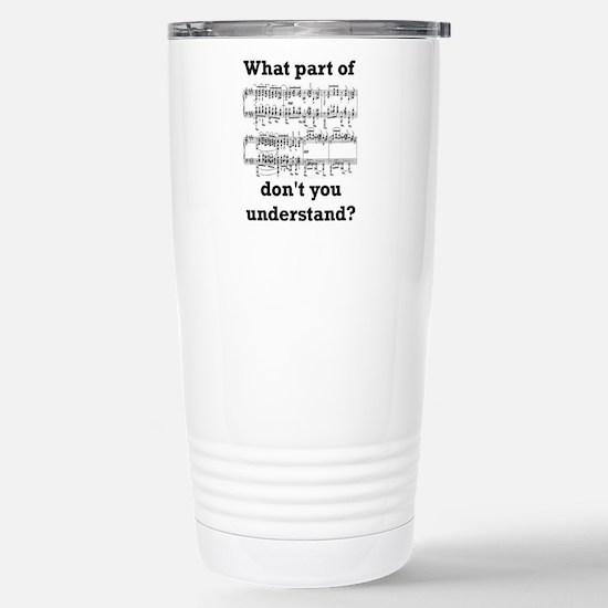 The Musician Stainless Steel Travel Mug