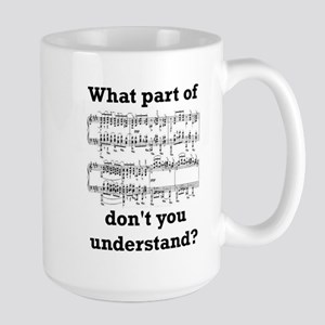 The Musician Large Mug