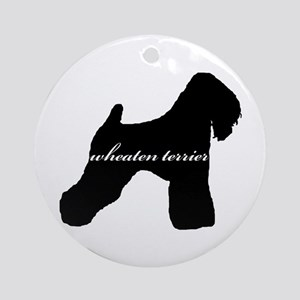 Wheaten Terrier DESIGN Ornament (Round)