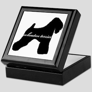 Wheaten Terrier DESIGN Keepsake Box
