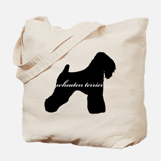 Wheaten Terrier DESIGN Tote Bag