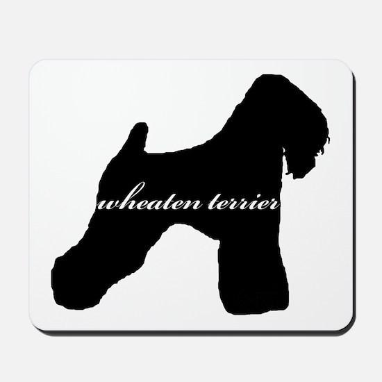 Wheaten Terrier DESIGN Mousepad