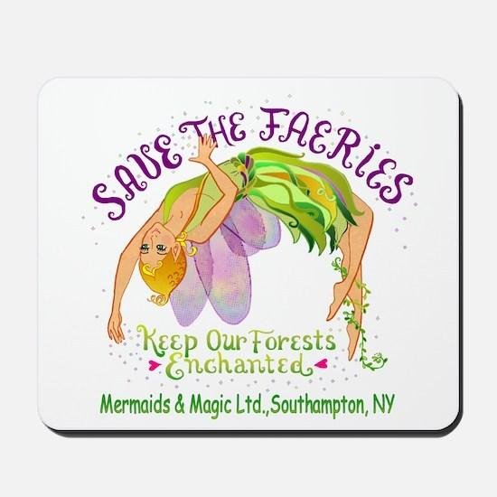 Save the Faeries in Souhhampton Mousepad