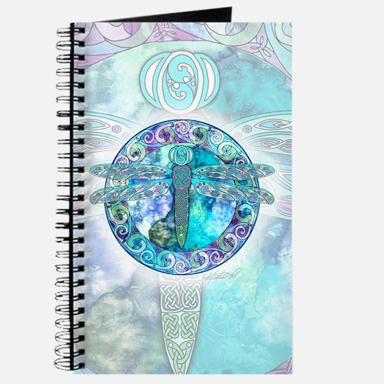 Cool Celtic Dragonfly Journal