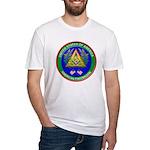 Masonic Proud American Mason Fitted T-Shirt