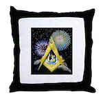 Celebrate Freemasonry Throw Pillow