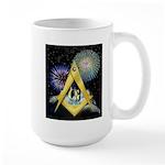 Celebrate Freemasonry Large Mug