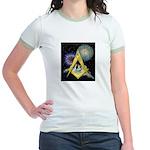 Celebrate Freemasonry Jr. Ringer T-Shirt