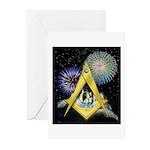 Celebrate Freemasonry Greeting Cards (Pk of 20)