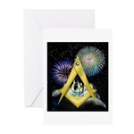 Celebrate Freemasonry Greeting Cards (Pk of 10)