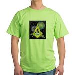 Celebrate Freemasonry Green T-Shirt