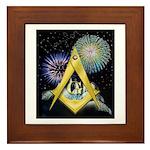 Celebrate Freemasonry Framed Tile