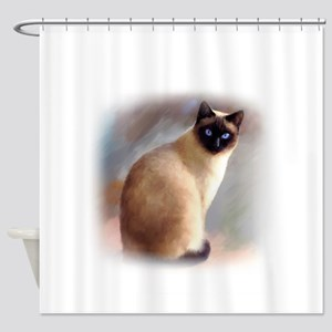 Cat 613 Shower Curtain