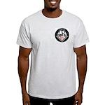Masonic Motorcycle Ash Grey T-Shirt