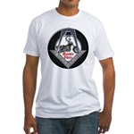 Masonic Motorcycle Fitted T-Shirt