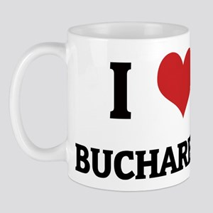I Love Bucharest Mug
