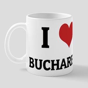 I Love Bucharest Mug