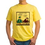 Fireworks Trucking Yellow T-Shirt
