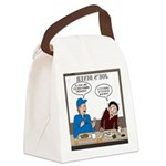 Fireworks Trucking Canvas Lunch Bag