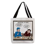 Fireworks Trucking Polyester Tote Bag