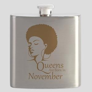 Queens Are Born In November Black Women Birthday F