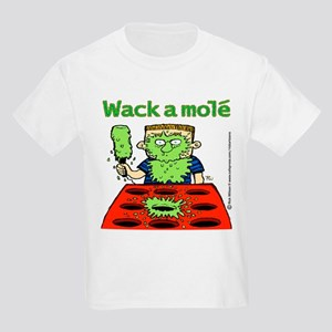 Wack a mole front Kids Light T-Shirt