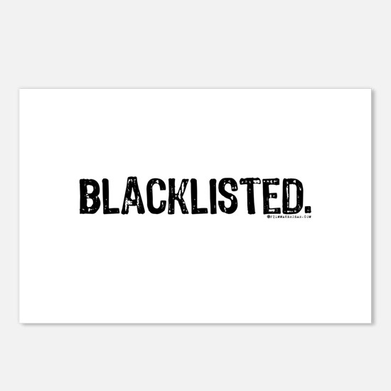 Blacklisted. Postcards (Package of 8)