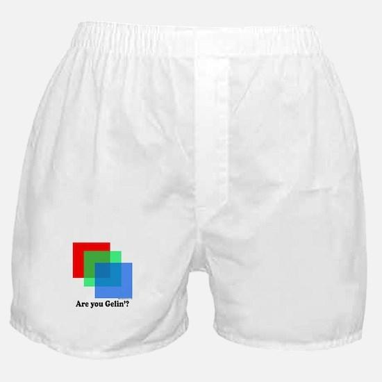Are You Gellin? Boxer Shorts
