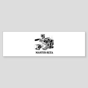 MasterBeta! Bumper Sticker